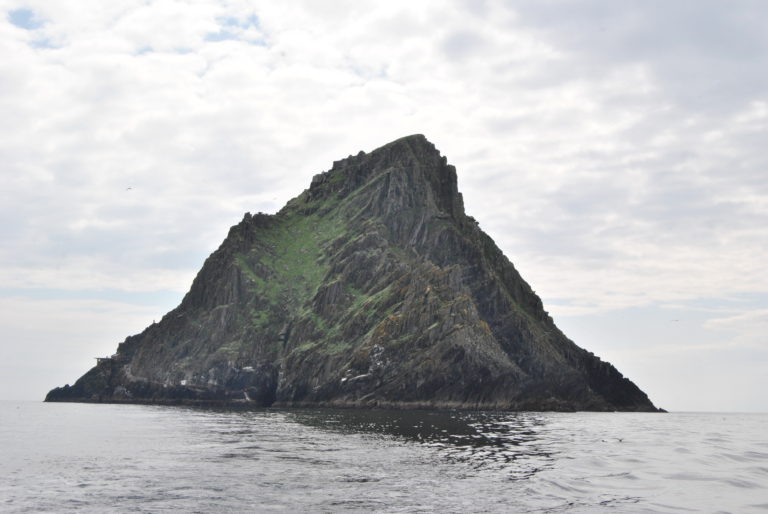 Skellig Michael - in all its glory.